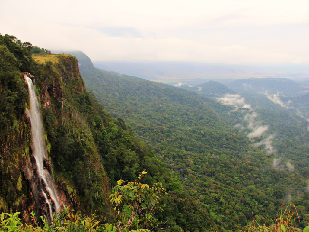 Aicha Falls Canaima Venezuela